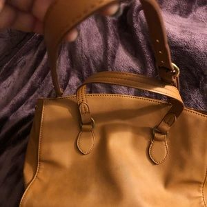 Universal thread purse brown color